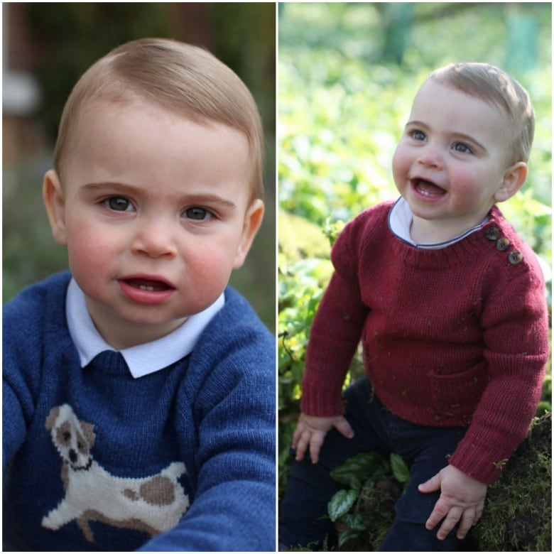 Newest pic of prince louis