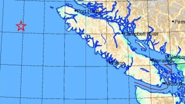 2 minor earthquakes recorded off Port Alice