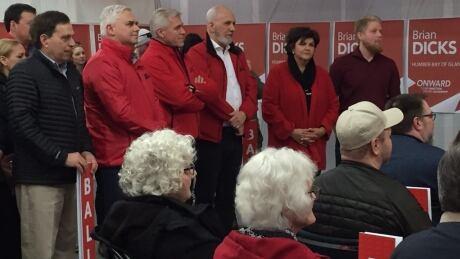 Brian Dicks campaign launch