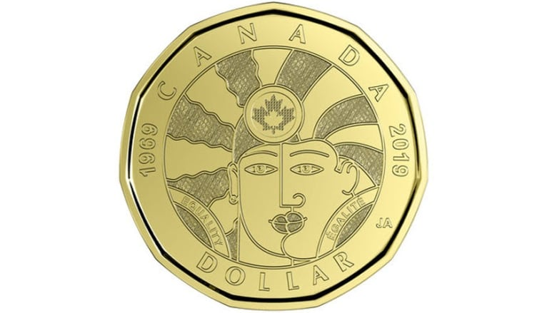 Royal Canadian Mint unveils new loonie marking 'progress' for LGBTQ