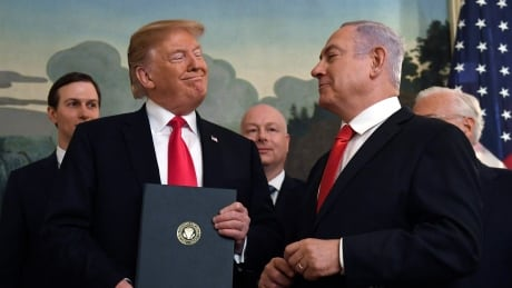 Netanyahu wants to name Golan Heights community after Trump