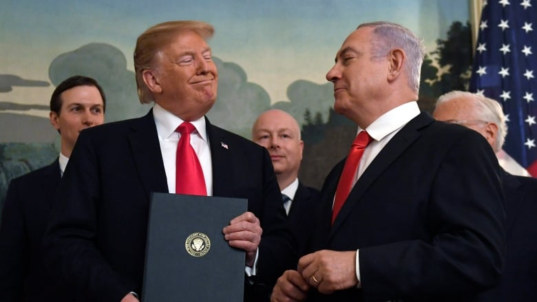 Netanyahu Wants To Name A New Golan Heights Settlement After Trump
