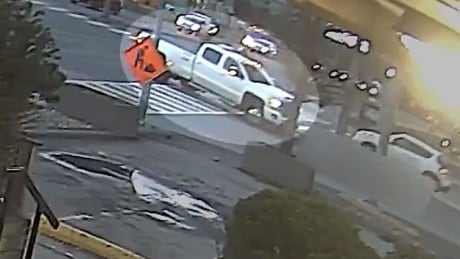 Police release video of white pickup truck in hit and run that injured 2 in Markham