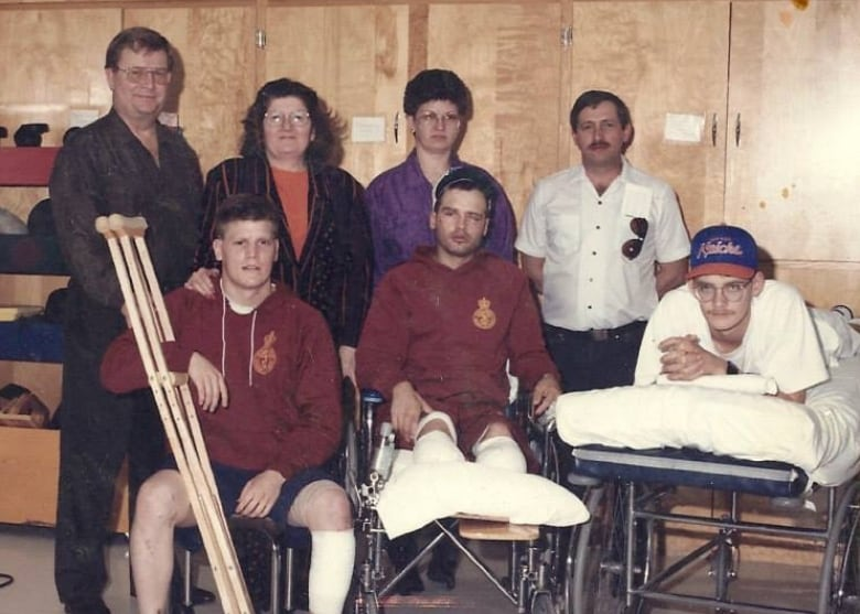 Newfoundland veteran works to give back Injured-soldiers-tommy-anderson-landmine-explosion