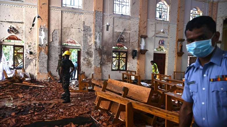 ISIS involved in Srilanka blasts?