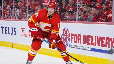 Flames, James Neal start relationship repair after playoff-game benching