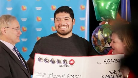 $768M US Powerball winner, 24, feared he had 'ticket everybody wants'