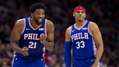 76ers crush Nets to set up 2nd-round showdown with Raptors