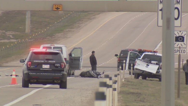 Motorcycle passenger dies of injuries from Anthony Henday crash