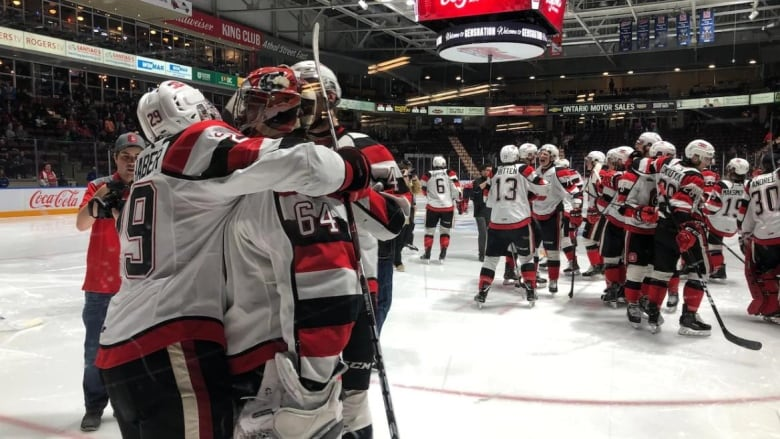 Ottawa 67's eye OHL record with 3rd playoff sweep | CBC News