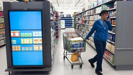 AI monitoring store shelves at new Walmart lab