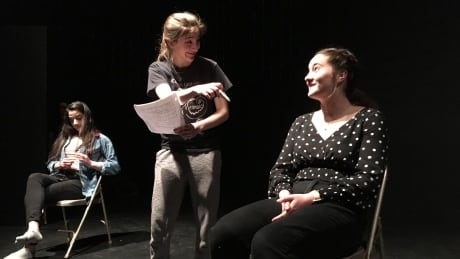 Students build 'high school survival guide' through skits aimed at younger classes