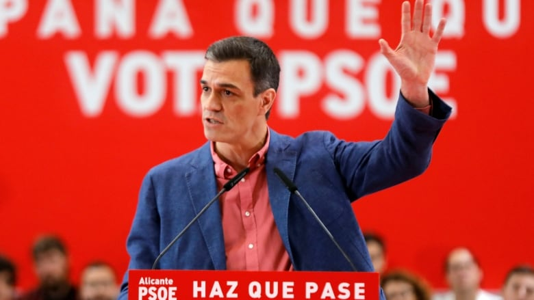 Spain's general election sees shocking collapse of the country's centre-right