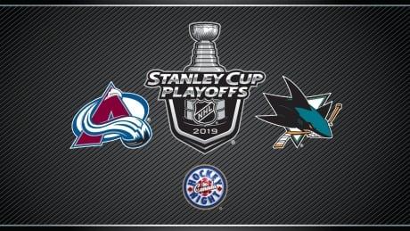 HNIC Playoffs - Colorado Avalanche at San Jose Sharks