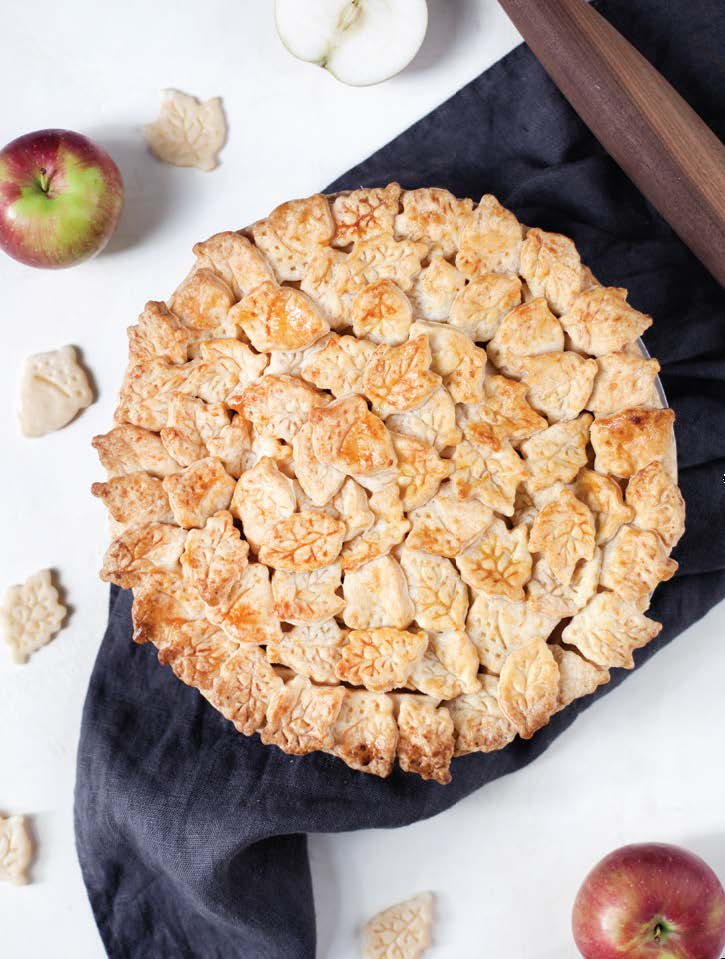 Apple Cheddar Pie: Why top your slice with cheese when you can bake it into the crust!