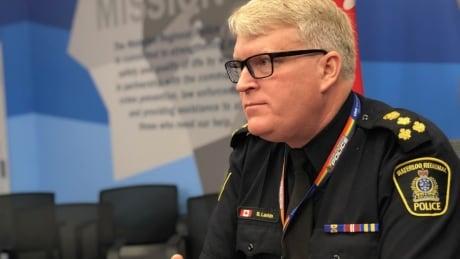 WRPS Police Chief Bryan Larkin