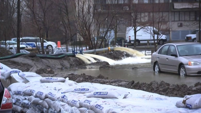 Montreal declares state of emergency due to flooding   CBC News