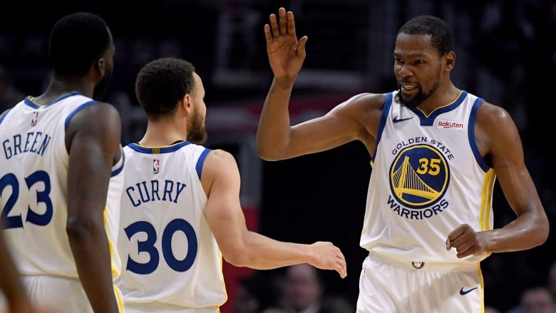 bd178abb4ee3 Durant erupts for 50 points as Warriors close out series with ...