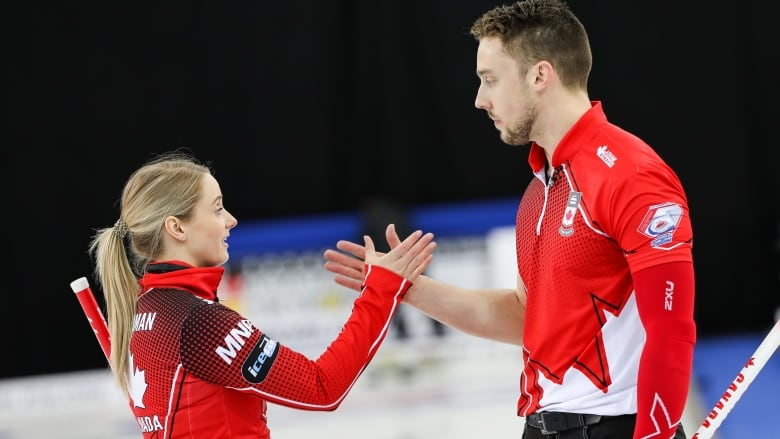 Canadian curlers going for a golden sweep in Norway | CBC Sports