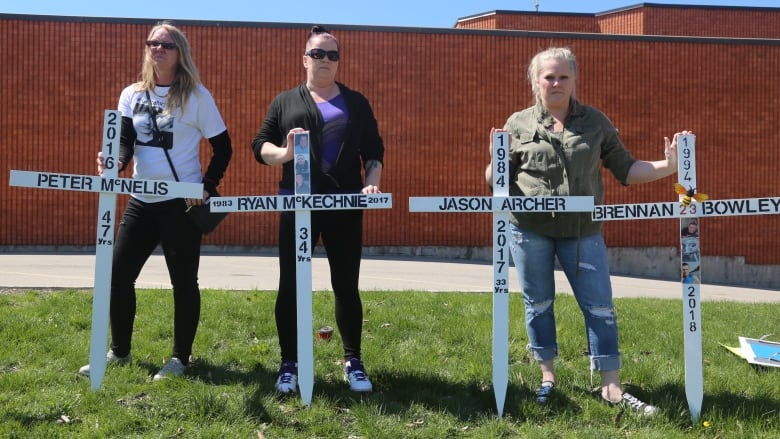 Families who lost loved ones at Barton jail meet with
