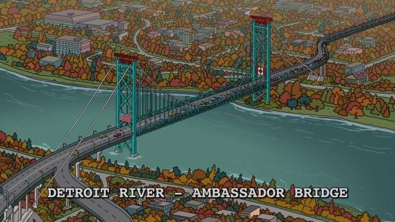 Simpsons take shot at Ottawa Senators in Canadian-themed episode