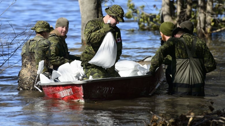 Canada's military feeling the strain responding to climate change