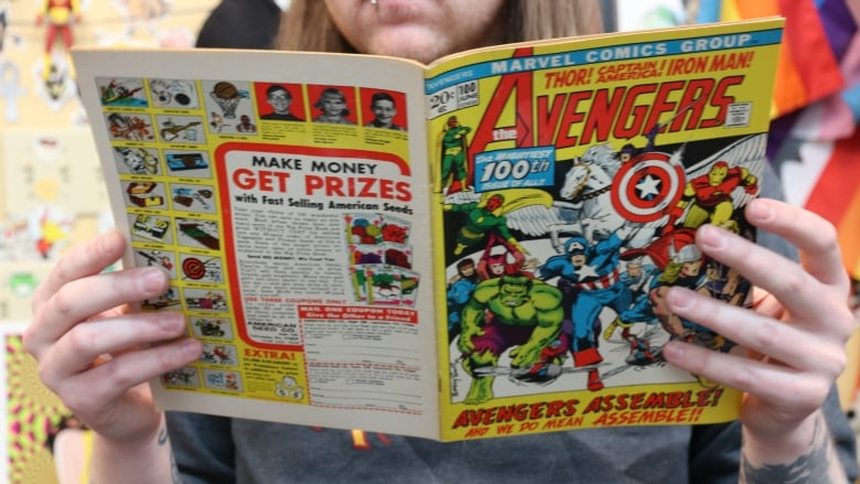 At the Library: Free comic books available at all branches