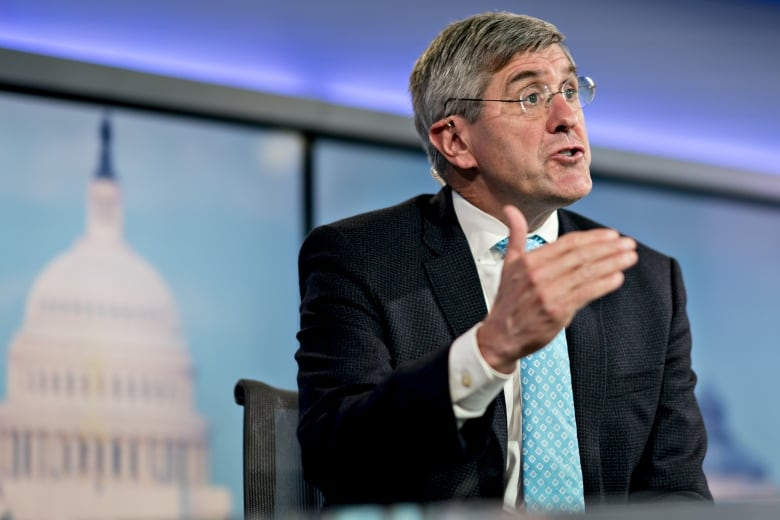 Stephen Moore has been suggested for a seat on the Fed board