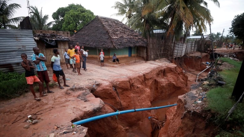 See the damage done by 2 powerful cyclones in Mozambique
