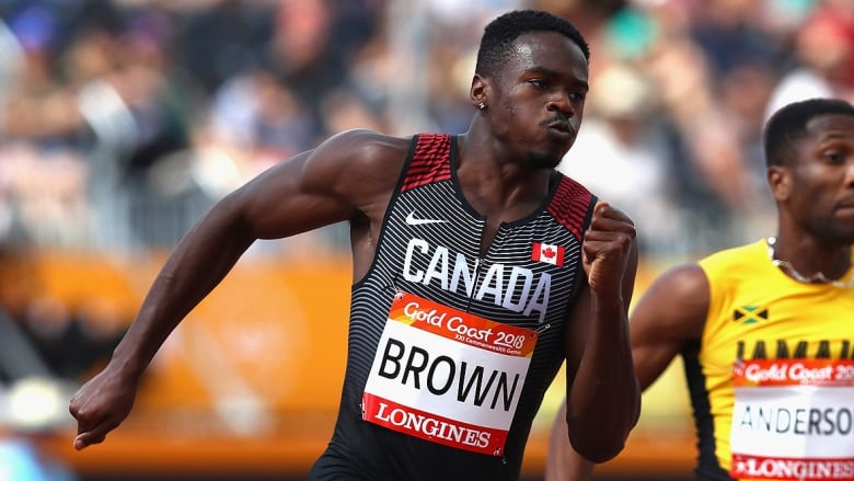 e9ea6ad2151 Aaron Brown of Toronto has focused part of his early-season training on the  final 50 metres of the 200, his nemesis throughout last season.