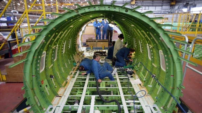 Bombardier to sell its Belfast aerostructures business