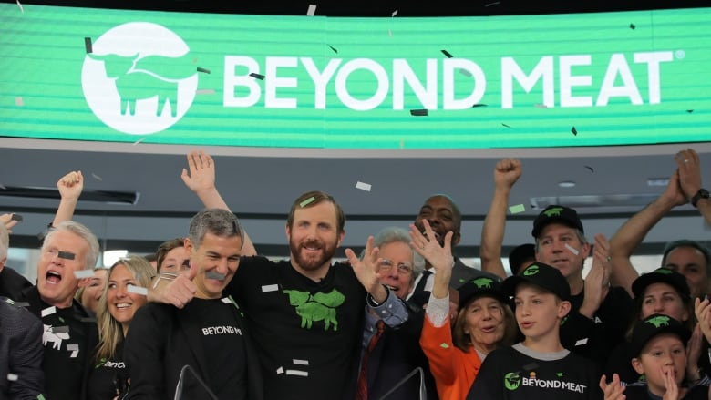 What did beyond meat ipo at