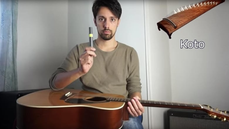 Guitars can imitate any instrument — this man proves it