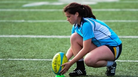 High school rugby player Claire Avery