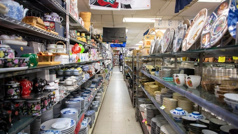 Inside the fullest and most beloved restaurant supply store ...