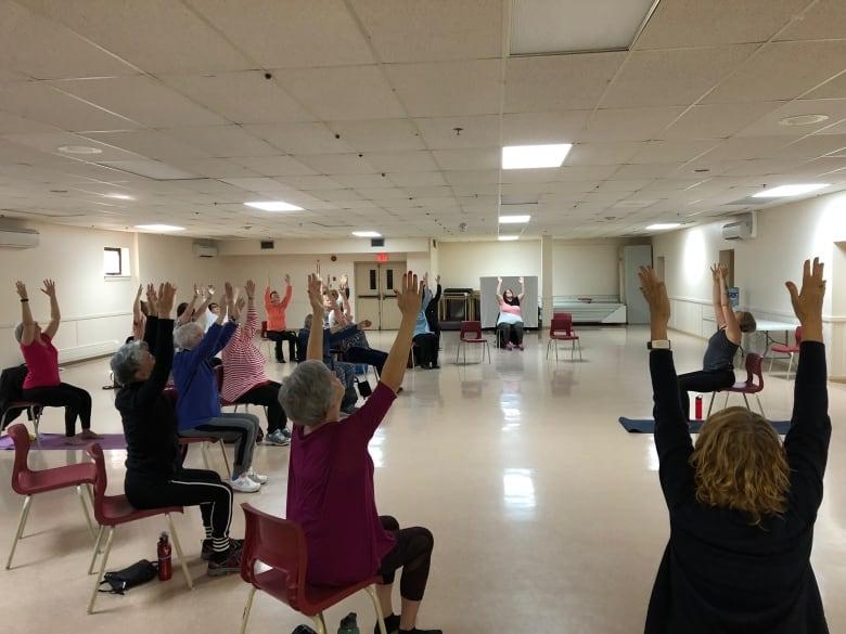 Brilliant You Can Still Do Things Chair Yoga Class In Cape Breton Creativecarmelina Interior Chair Design Creativecarmelinacom
