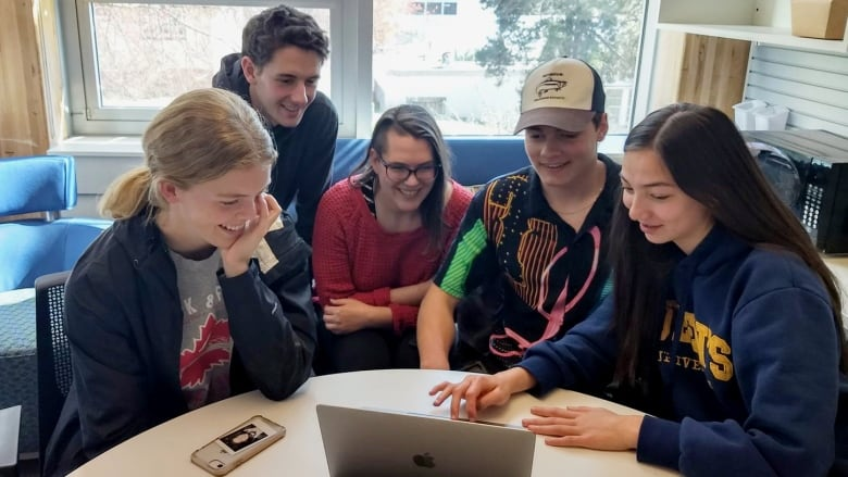 I Realized How Much Power I Held Climate Change Workshops Offer High School Students Hope For The Future Cbc News