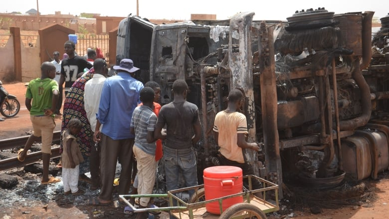 At least 55 people killed after tanker truck explosion in Niamey, Niger