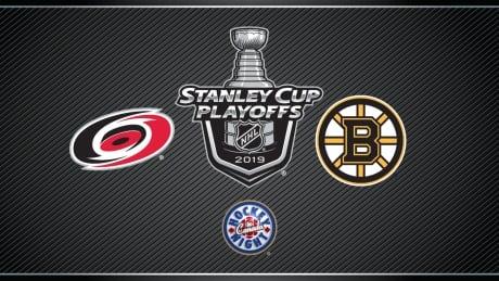 HNIC NHL Playoffs Carolina Hurricanes at Boston Bruins