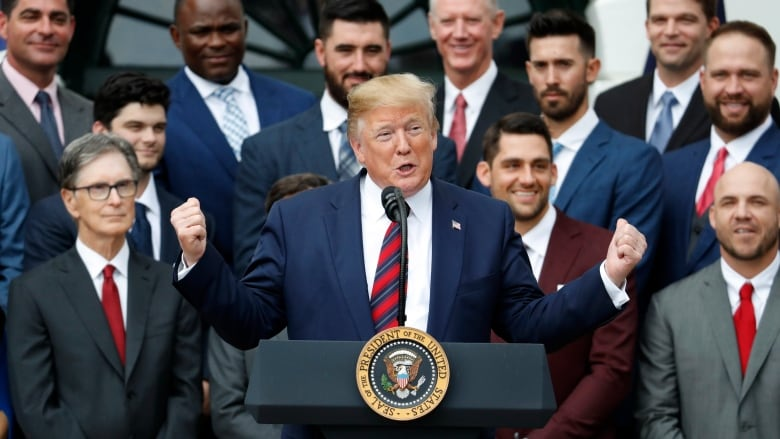 f5d16d2c6 Red Sox deny  racial divide  as many snub Trump s White House invite ...