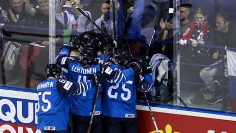 Fluky bounce gives Finland win over Canada at hockey worlds