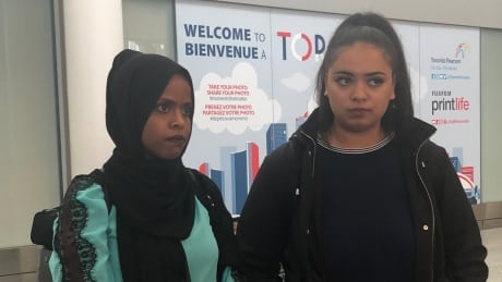 2 Canadian women freed from Somaliland jail arrive in Toronto