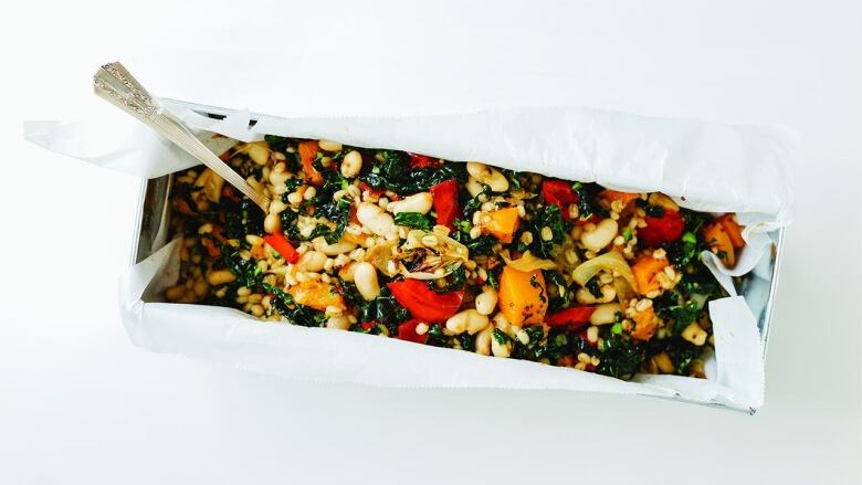 Bean Salad With Barley And Roasted Veg A Healthy And
