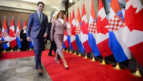 Prime Minister Trudeau, Croatian President visiting Hamilton today