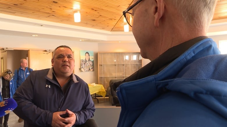 Crosbie only party leader to visit an Innu or Inuit community in Labrador