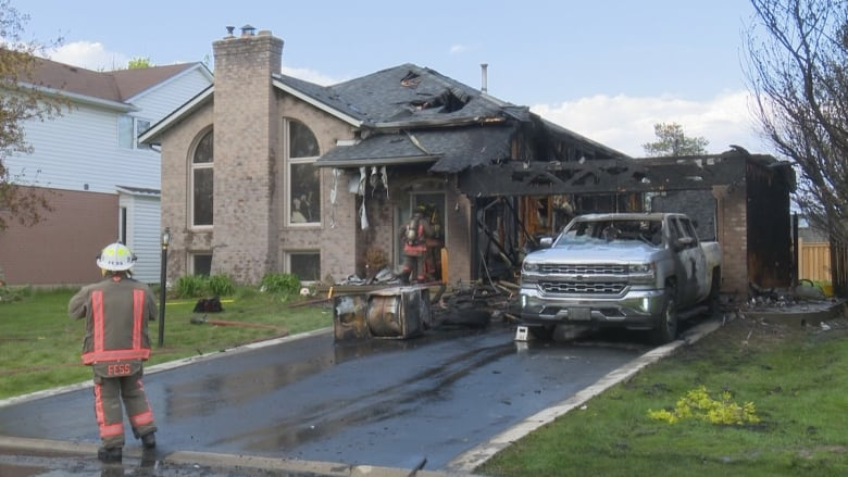 Caledonia garage fire causes $1M in damages