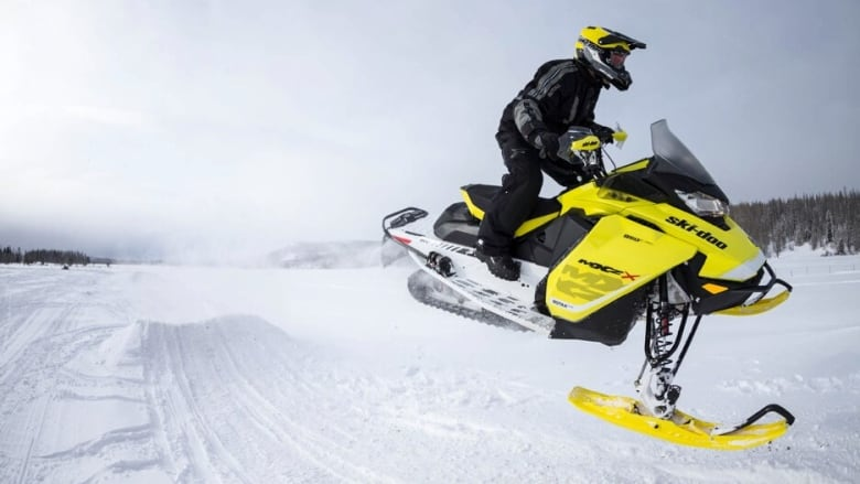 Ski-Doo recalls 7,000 snowmobiles over fire hazard