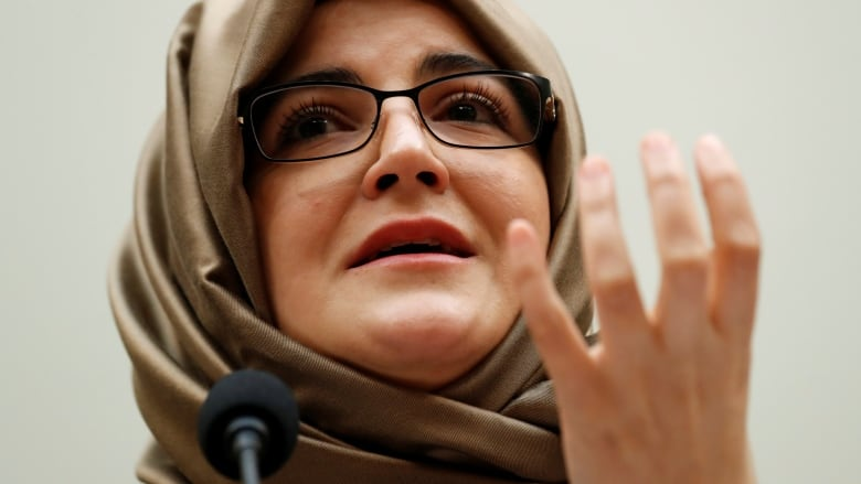 'The world still has not done anything,' says slain Saudi journalist's fiancee