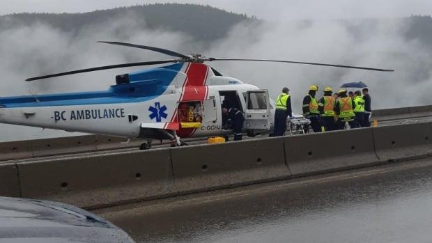 Two air ambulances at crash - glbnews com