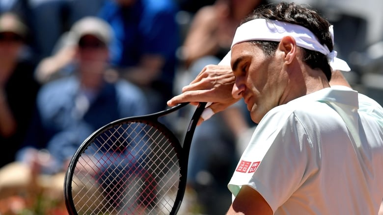 Nadal Advances Federer Osaka Withdraw From Italian Open Due To Injuries Cbc Sports